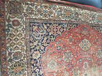 Very large antique rug / carpet