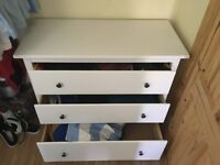 IKEA Hemnes chest of drawers - white