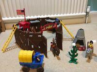 Playmobile western fort
