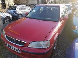 2000 HONDA CIVIC 1.4 VTECH..LONG MOT..QUICK SALE