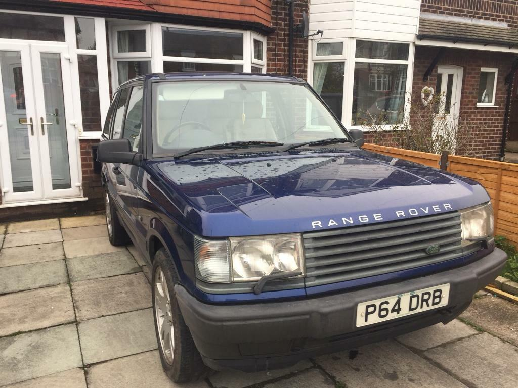Range Rover P38 1996 diesel and manual only 115,000 miles