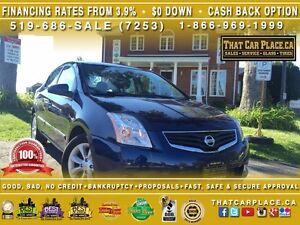 2012 Nissan Sentra 2.0S-0.9%Financing or $1500 Cashback-$0DOWN-H