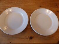 Original WW2 German dinner plates.