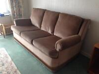 3 SEATER SETTEE AND CHAIR