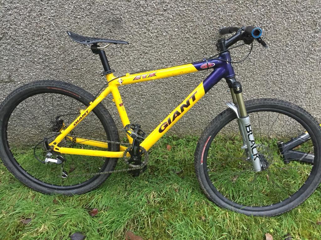 "Giant ATX MTB bike bicycle medium 26"""