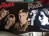 The police vinyls