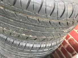 Car Tyres 165/65R15 with rims - clean and in excellent condition