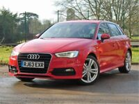 AUDI A3 S LINE 1 OWNER FULL AUDI SERVICE HISTORY