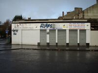 SHOP / OFFICE TO LET 1300sq ft CORNWALL ST. KINNING PARK GLASGOW £200pw