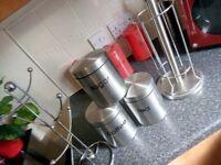 Chrome kitchen sets