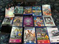 Sony PlayStation with Controller and 14 Games