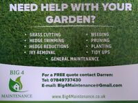 Gardener / Grass Cutting / Hedge Cutting