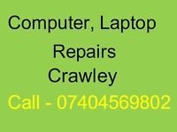 Computer, Laptop Repairs Crawley