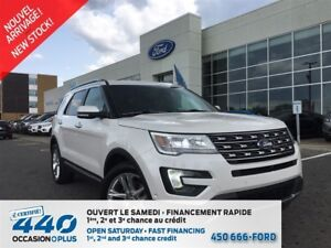 2016 Ford Explorer Limited | 3.5L, AWD, CUIR, TOIT PANO, NAVIGAT