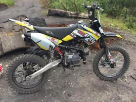 125cc pit bike new engine