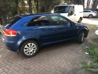 Audi 1.6 blue limited edition 2007 for sale