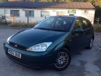 2002 Ford Focus 1.6i LX 5dr drives brilliant Cheap to run and insure
