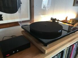 REGA RP6 Turntable New REGA EXACT MM Cartridge TT PSU Boxed Fully Working Excellent Condition