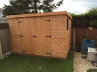 NEW HIGH QUALITY T&G 7x3 TOOL SHED £314.00 ANY SIZE (FREE DELIVERY AND INSTALLATION)