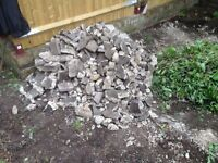 Over 1.5 cubic metres of Clean Concrete Rubble, FREE!