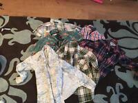 Boys shirts 6 items