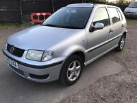 VOLKSWAGEN POLO 1.4 PETROL 51 PLATE LONG MOT VERY GOOD CONDITION £385