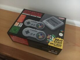 *Brand New* SNES Super Nintendo Classic Mini Console - Super Nintendo Entertainment System PAL