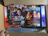 Star Trek Magazine complete up to date collection