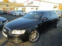 Audi A6 3.0 TDI QUATTRO S LINE Special Ed LE MANS 4dr Tip Auto + SATNAV + FULLY SERV... (black) 2010
