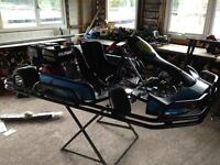 Brand new go Kart 270cc 3 hours use