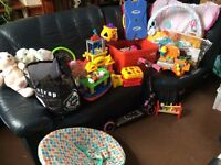 job lot of childrens and baby items