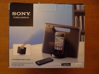 sony personal audio docking station as new