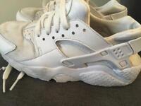 Nike Huarache trainers white size 4