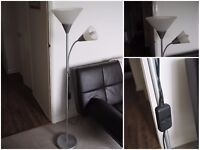 Floor uplighter/reading lamp £10