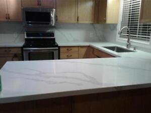 Granite, Quartz countertop best deals, will install in 2 days.