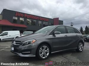 2016 Mercedes-Benz B-Class Prem Pack, Pana Roof, nav, leather