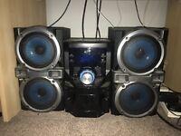 Hi-Fi system twin speaker £30 ONO