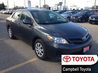 2013 Toyota Corolla CE HEATED CLOTH CRUISE LOW KM'S