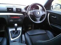 BMW, 1 SERIES, M Sport ,Hatchback, 2011, Semi-Auto, 1995 (cc), 5 doors part leather