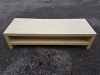 BIRCH Ikea TV Bench FREE DELIVERY 238