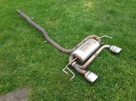 Audi TT S3 Supersprint Stainless Steel Exhaust System