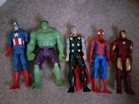 Avenger figures