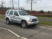 2005 Jeep Cherokee 2.8 CRD Limited 4x4, Low Mileage, Long MOT, Must See!
