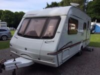 2005 Special edition Swift Bridgemere GT 4 berth caravan full awning