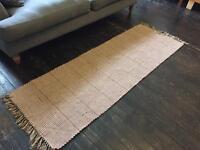 Long patterned rug