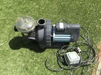 Water pump for koi pond
