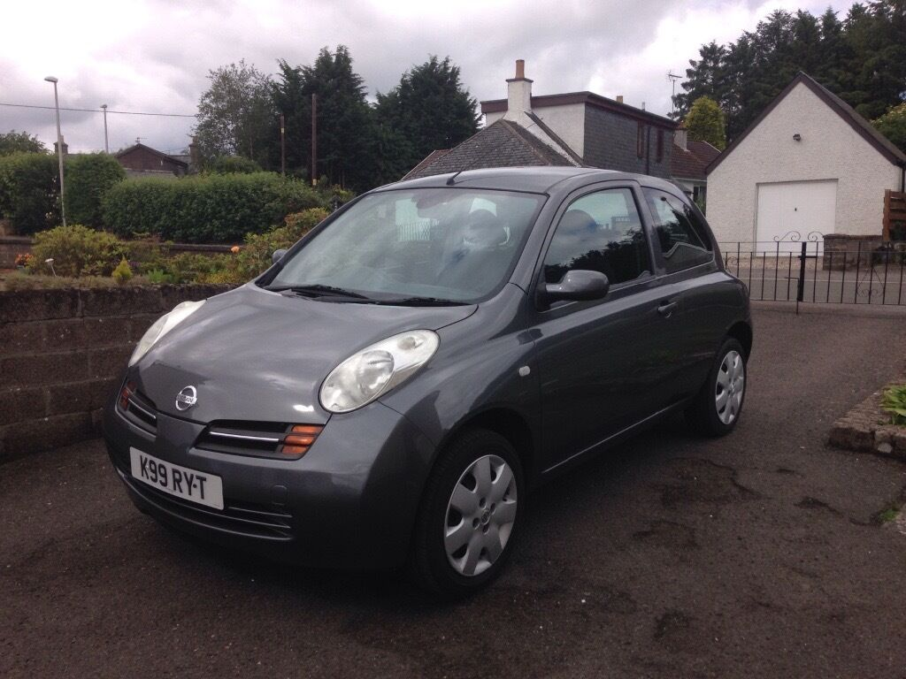 nissan micra 1 4 se automatic 2005 low miles great condition in angus gumtree. Black Bedroom Furniture Sets. Home Design Ideas
