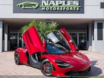 2018 McLaren 720S  2018 McLaren 720S, Bespoke Interior, Tons of Carbon Fiber, Sports Exhaust