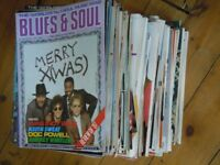 Big pile of old Blues and Soul magazines.