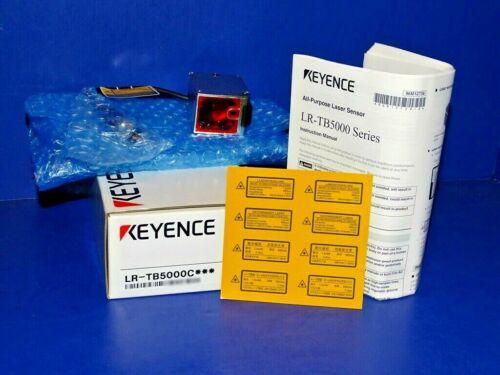 NEW IN ORIGINAL BOX Keyence LR-TB5000C All Purpose Laser Sensor